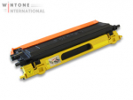 Rebuilt Toner f�r Brother TN-130/TN-135 Yellow f. HL-4040 / DCP-9040 ersetzt Original Toner TN-130Y