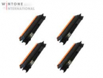 4x Rebuilt Toner f�r Brother TN-130/TN-135 Black f. HL-4040 / DCP-9040